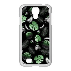 Tropical Pattern Samsung Galaxy S4 I9500/ I9505 Case (white) by Valentinaart