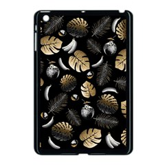 Tropical Pattern Apple Ipad Mini Case (black) by Valentinaart