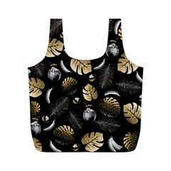 Tropical Pattern Full Print Recycle Bags (m)  by Valentinaart
