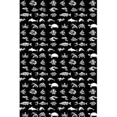 Fish Pattern 5 5  X 8 5  Notebooks by ValentinaDesign