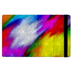 Rainbow Colors        Kindle Fire (1st Gen) Flip Case by LalyLauraFLM