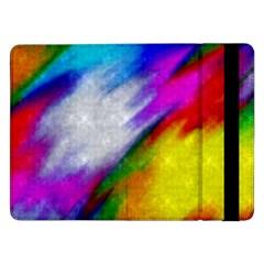 Rainbow Colors        Samsung Galaxy Tab Pro 10 1  Flip Case by LalyLauraFLM