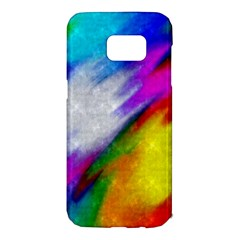 Rainbow colors               Samsung Galaxy S7 Hardshell Case by LalyLauraFLM