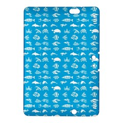 Fish Pattern Kindle Fire Hdx 8 9  Hardshell Case by ValentinaDesign