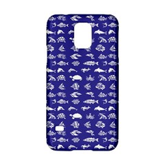 Fish Pattern Samsung Galaxy S5 Hardshell Case  by ValentinaDesign