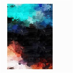 Paint Strokes And Splashes              Small Garden Flag by LalyLauraFLM