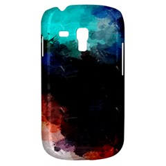 Paint strokes and splashes        Samsung Galaxy Ace Plus S7500 Hardshell Case by LalyLauraFLM