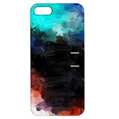 Paint Strokes And Splashes        Apple Iphone 4/4s Hardshell Case With Stand by LalyLauraFLM