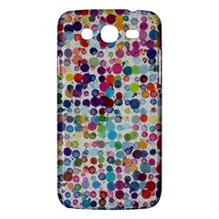 Colorful splatters         Samsung Galaxy Duos I8262 Hardshell Case by LalyLauraFLM