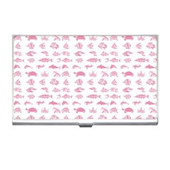 Fish Pattern Business Card Holders by ValentinaDesign