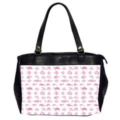 Fish Pattern Office Handbags (2 Sides)  by ValentinaDesign