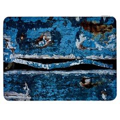 Blue Painted Wood          Htc One M7 Hardshell Case by LalyLauraFLM