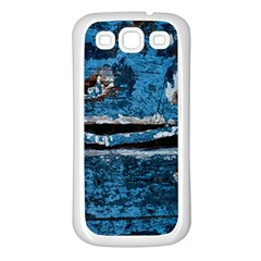 Blue Painted Wood          Samsung Galaxy S7710 Xcover 2 Hardshell Case by LalyLauraFLM