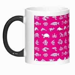 Fish Pattern Morph Mugs by ValentinaDesign