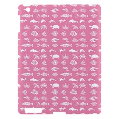 Fish Pattern Apple Ipad 3/4 Hardshell Case by ValentinaDesign