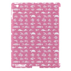 Fish Pattern Apple Ipad 3/4 Hardshell Case (compatible With Smart Cover) by ValentinaDesign