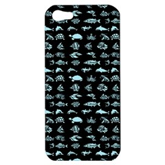 Fish Pattern Apple Iphone 5 Hardshell Case by ValentinaDesign