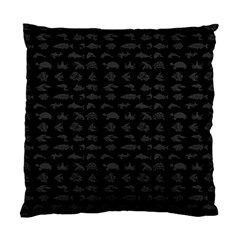 Fish Pattern Standard Cushion Case (one Side) by ValentinaDesign