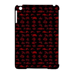 Fish Pattern Apple Ipad Mini Hardshell Case (compatible With Smart Cover) by ValentinaDesign