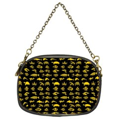 Fish Pattern Chain Purses (one Side)  by ValentinaDesign