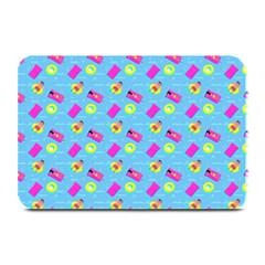 Summer Pattern Plate Mats by ValentinaDesign