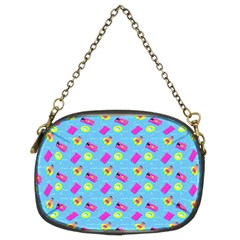 Summer Pattern Chain Purses (two Sides)  by ValentinaDesign