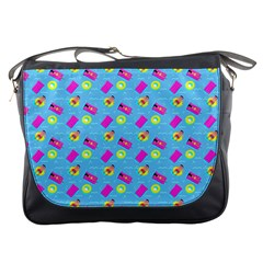 Summer Pattern Messenger Bags by ValentinaDesign