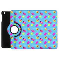 Summer Pattern Apple Ipad Mini Flip 360 Case by ValentinaDesign
