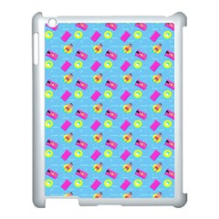 Summer Pattern Apple Ipad 3/4 Case (white) by ValentinaDesign