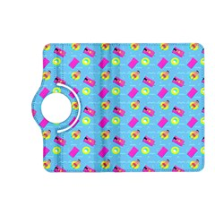 Summer Pattern Kindle Fire Hd (2013) Flip 360 Case by ValentinaDesign