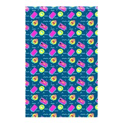 Summer Pattern Shower Curtain 48  X 72  (small)  by ValentinaDesign