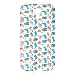 Dinosaurs Pattern Samsung Galaxy S4 I9500/i9505 Hardshell Case by ValentinaDesign