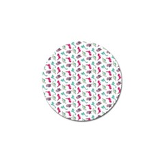 Dinosaurs Pattern Golf Ball Marker by ValentinaDesign
