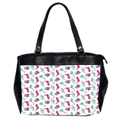 Dinosaurs Pattern Office Handbags (2 Sides)  by ValentinaDesign