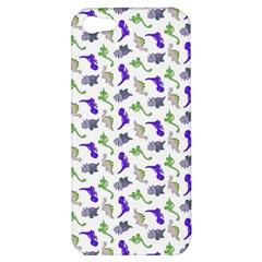 Dinosaurs Pattern Apple Iphone 5 Hardshell Case by ValentinaDesign