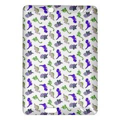 Dinosaurs Pattern Amazon Kindle Fire Hd (2013) Hardshell Case by ValentinaDesign
