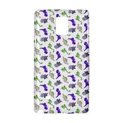 Dinosaurs Pattern Samsung Galaxy Note 4 Hardshell Case by ValentinaDesign