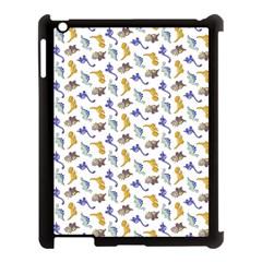 Dinosaurs Pattern Apple Ipad 3/4 Case (black) by ValentinaDesign