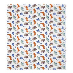 Dinosaurs Pattern Shower Curtain 66  X 72  (large)  by ValentinaDesign