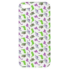 Dinosaurs Pattern Apple Iphone 5 Hardshell Case by ValentinaDesign
