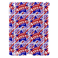 Happy 4th Of July Theme Pattern Apple Ipad 3/4 Hardshell Case (compatible With Smart Cover) by dflcprints