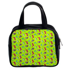 Dinosaurs Pattern Classic Handbags (2 Sides) by ValentinaDesign