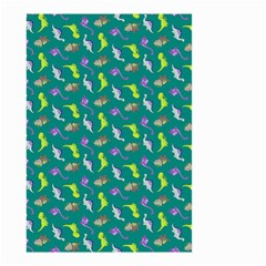 Dinosaurs Pattern Small Garden Flag (two Sides) by ValentinaDesign