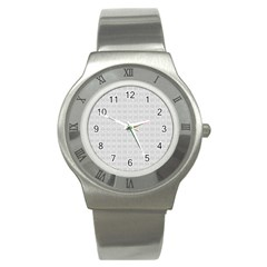 Pattern Stainless Steel Watch by ValentinaDesign