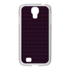 Pattern Samsung Galaxy S4 I9500/ I9505 Case (white) by ValentinaDesign