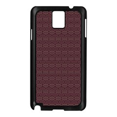 Pattern Samsung Galaxy Note 3 N9005 Case (black) by ValentinaDesign