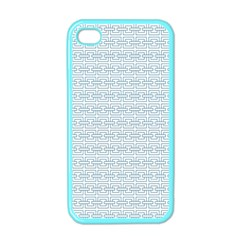 Pattern Apple Iphone 4 Case (color) by ValentinaDesign