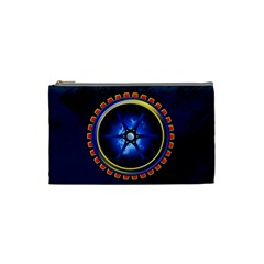 Power Core Cosmetic Bag (small)  by linceazul