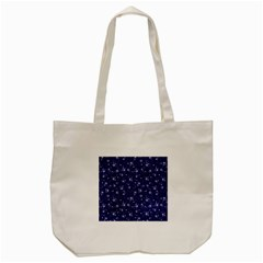 Floral Pattern Tote Bag (cream) by ValentinaDesign