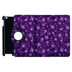 Floral Pattern Apple Ipad 3/4 Flip 360 Case by ValentinaDesign